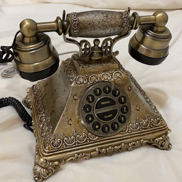 Vintage French Rotary Style Telepone